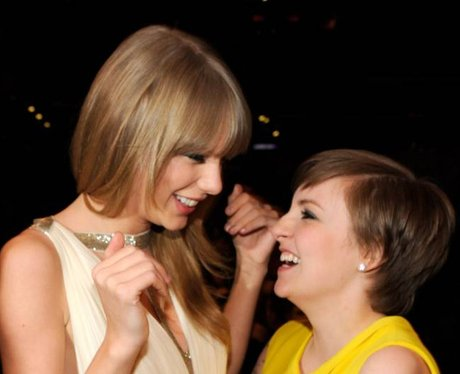 Taylor Swift and Lena Dunham