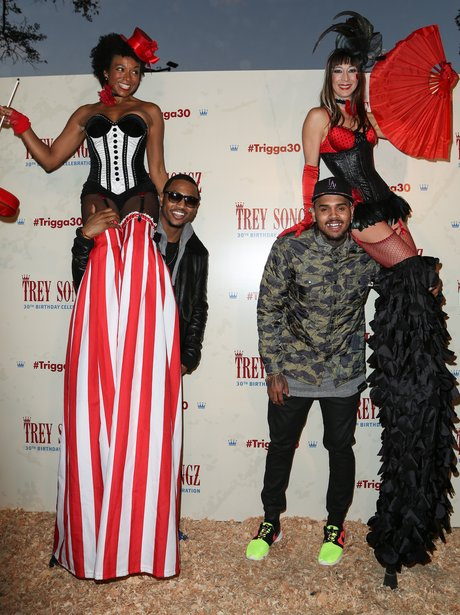 Trey Songz arrives for his 30th birthday celebrations with ...How Tall Is Trey Songz In Feet