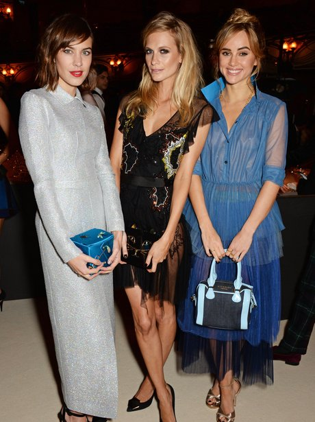 Alexa Chung, Poppy Delevingne and Suki Waterhouse