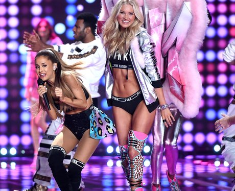 Ariana Hit By Victoria Secret Wing