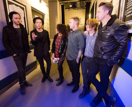 One Republic Backstage Jingle Bell Ball 2014