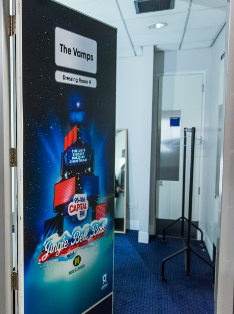 The Vamps Dressing Room Backstage Jingle Bell Ball