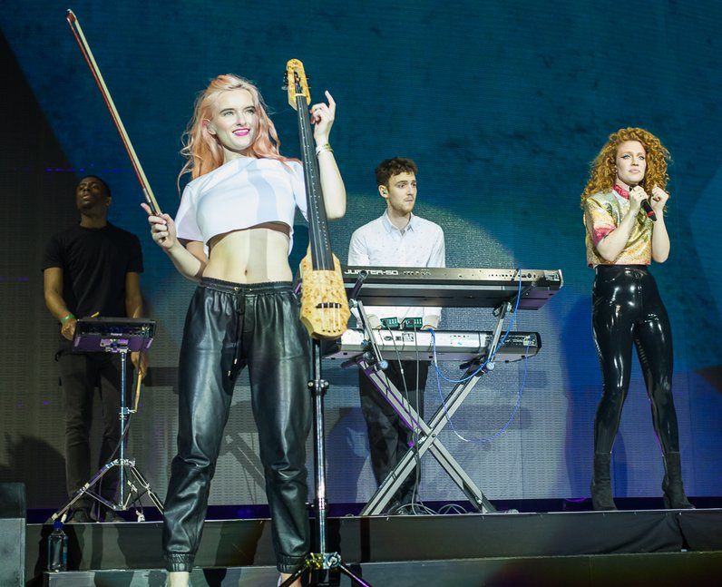 Clean Bandit at the Jingle Bell Ball 2014