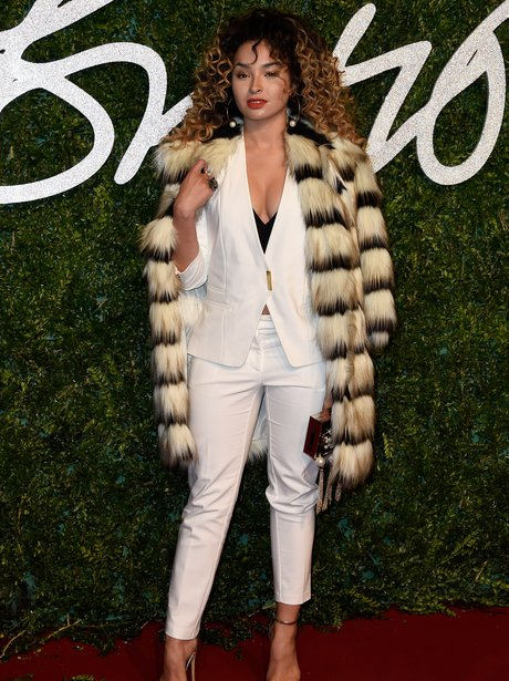 Ella Eyre British Fashion Awards 2014