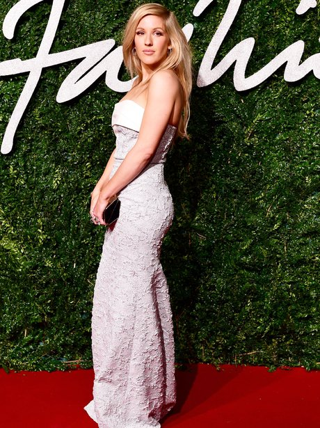 Ellie Goulding British Fashion Awards 2014