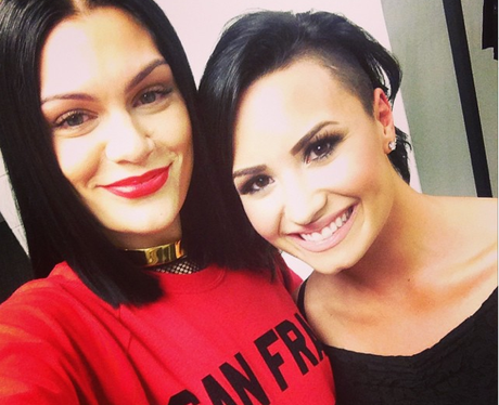 Jessie J and Demi Lovato