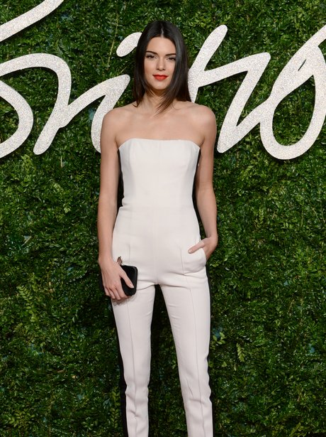 Kendall Jenner British Fashion Awards 2014