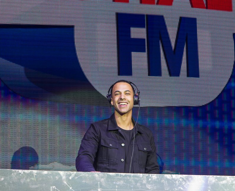 Marvin Pre Show Jingle Bell Ball 2014