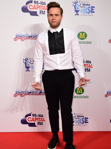 On trend Olly! Mr Murs looked super stylish in a ...