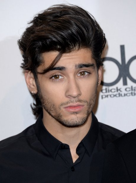 One Direction's Zayn Malik on the red carpet