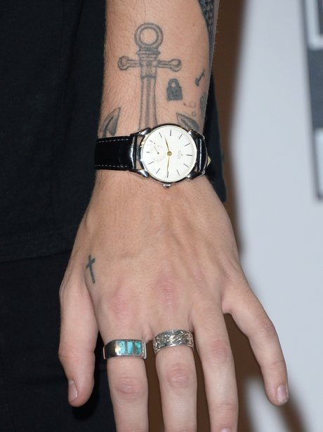 One Direction's Harry Styles' new tattoo
