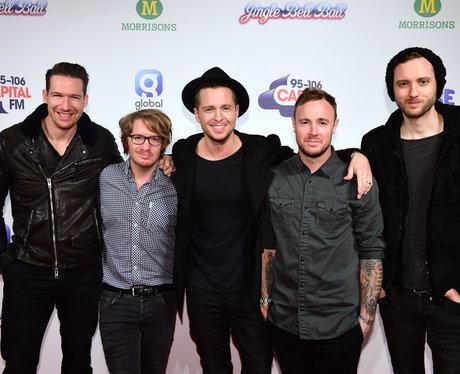 One Republic Red Carpet at the Jingle Bell Ball 20