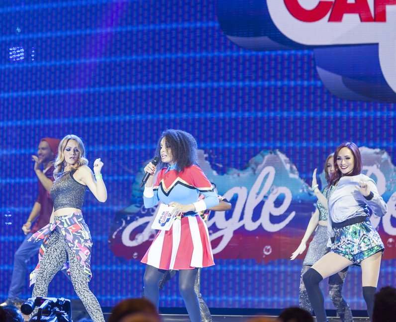 Pandora at the Jingle Bell Ball 2014