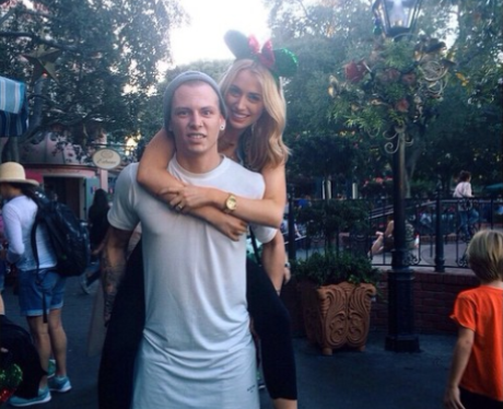 Lewi Morgan isn't afraid to clown around with his lovely ...