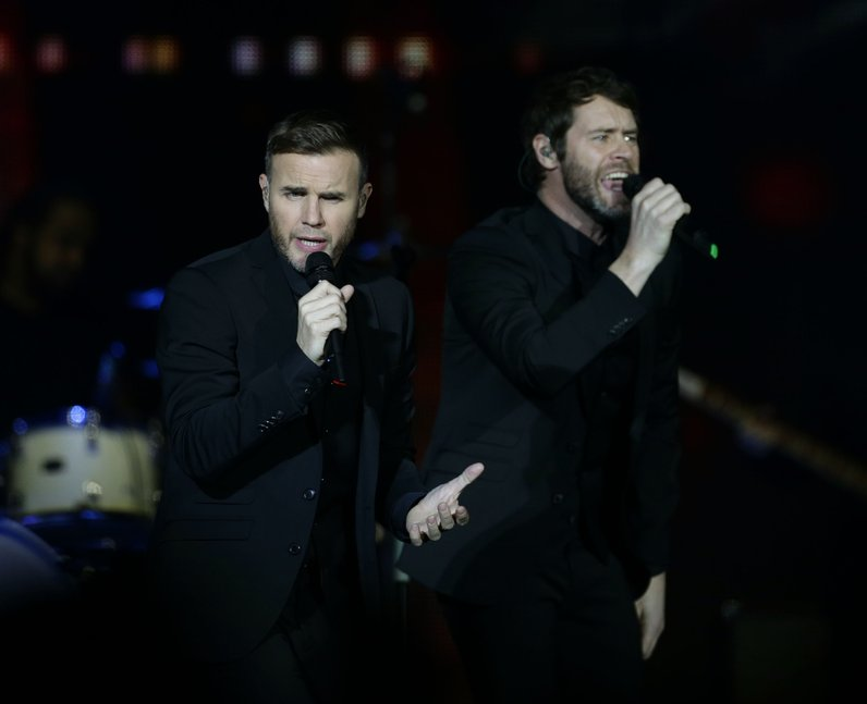 Take That Jingle Bell Ball 2014