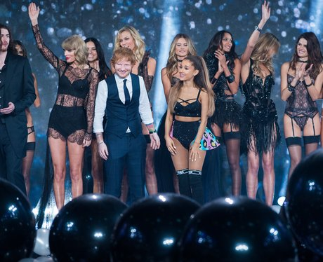 Taylor Swift, Ed Sheeran and Ariana Grande Victori