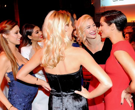 The Saturdays and Pixie Lott