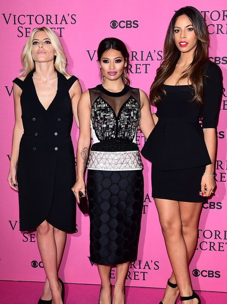 The Saturdays Victorias Secret Fashion Show 2014