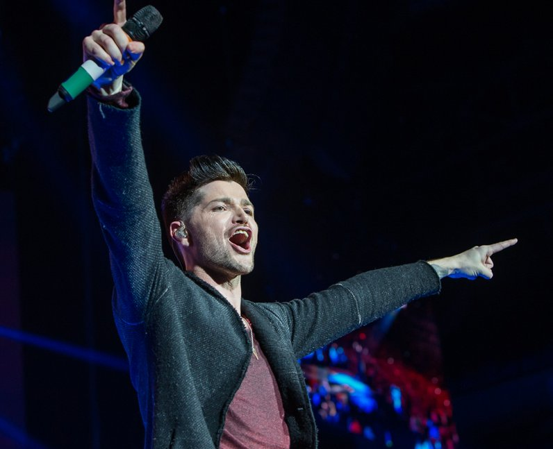 The Script at the Jingle Bell Ball 2014