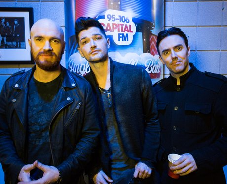 The Script Backstage Jingle Bell Ball 2014