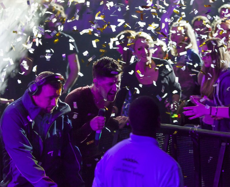 The Script Jingle Bell Ball 2014