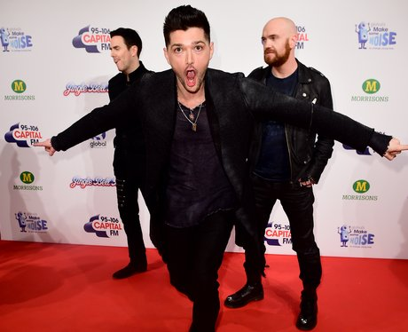 The Script Red Carpet  Jingle Bell Ball 2014