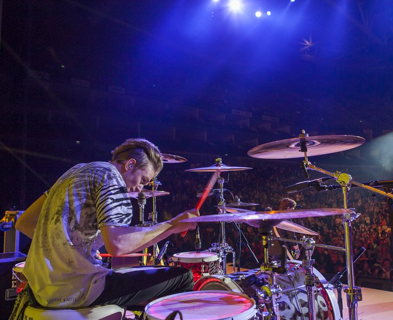 The Vamps at the Jingle Bell Ball 2014