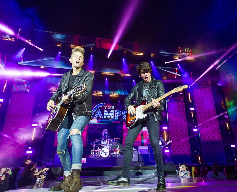 The Vamps Jingle Bell Ball 2014
