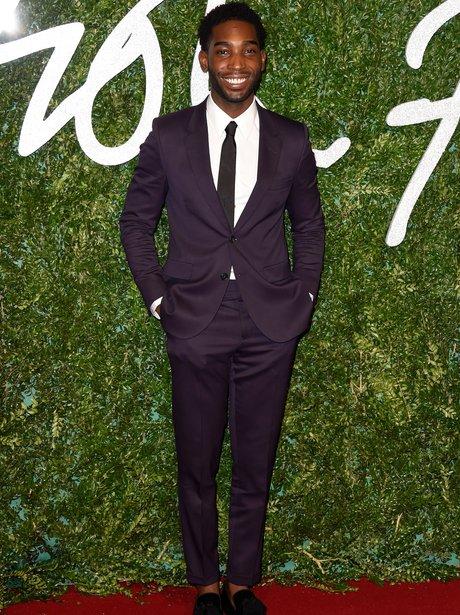 Tinie Tempah British Fashion Awards 2014