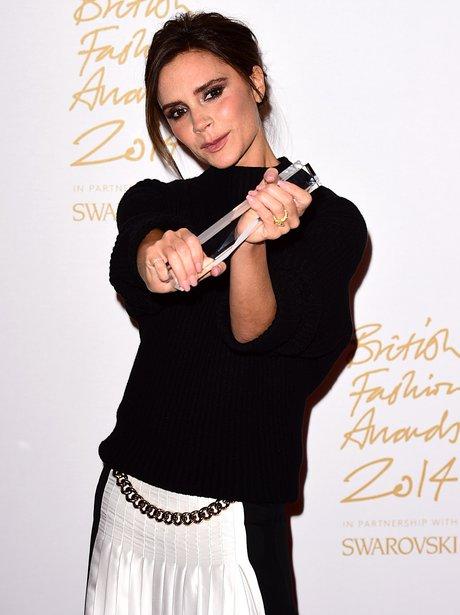 Victoria Beckham British Fashion Awards 2014