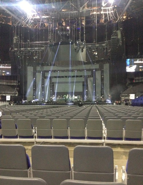 The O2 Seating Plan Heres Your View Of All The Action From