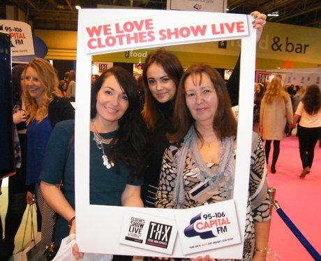 Clothes Show Live: Pout It