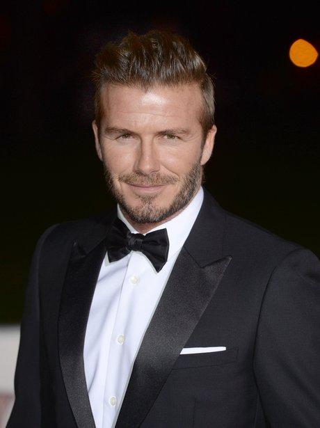 David Beckham The Sun Military Awards 2014
