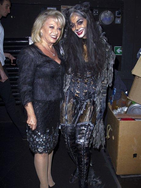 Elaine Paige and Nicole Scherzinger