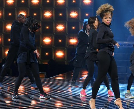 Fleur East rehearsals for X Factor