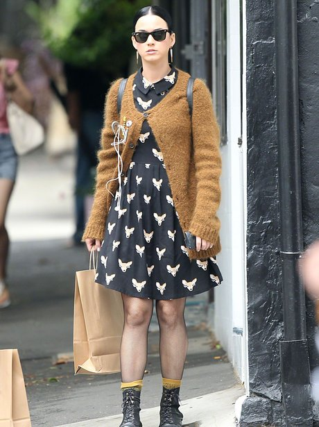 Katy Perry Monochrome Dress