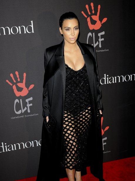 Kim Kardashian attends the Diamond Ball
