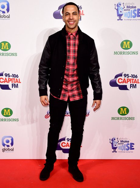 Marvin Humes Red Carpet at the Jingle Bell Ball 20