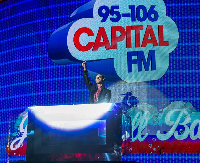 Marvin Jingle Bell Ball 2014
