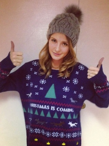 Millie Mackintosh Christmas Jumper