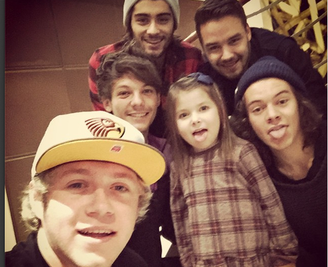 One Direction and Young Fan