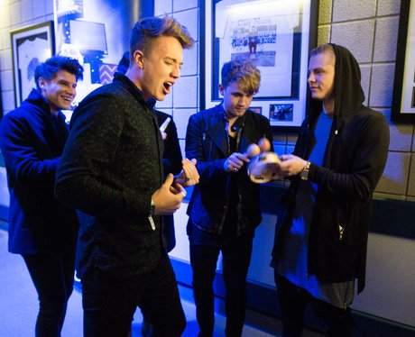 Rixton Backstage Jingle Bell Ball 2014