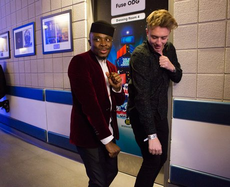 Fuse ODG Backstage Jingle Bell Ball 2014