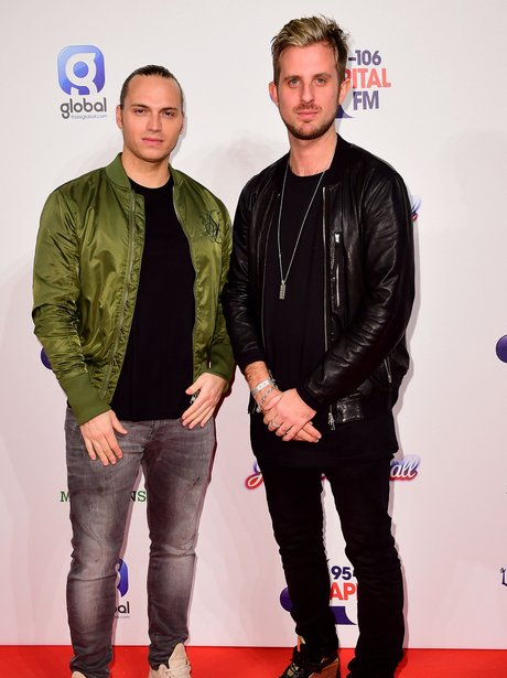 Sigma Red Carpet at the Jingle Bell Ball 2014