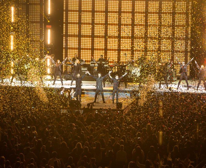 Take That Jingle Bell Ball 2014 Live