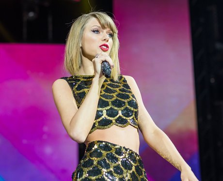 Taylor Swift at the Jingle Bell Ball 2014