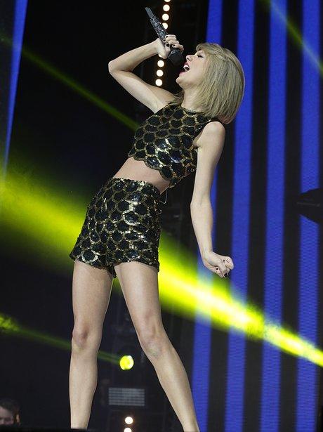Taylor Swift Live  Jingle Bell Ball 2014