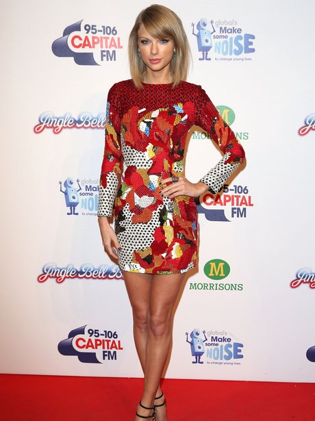 Taylor Swift Red Carpet at the Jingle Bell Ball 20