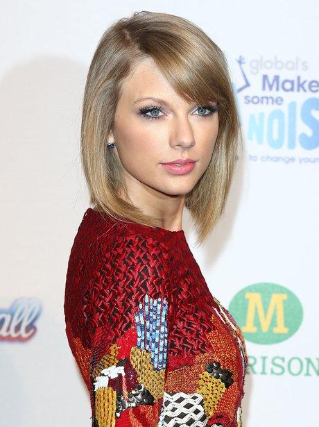Taylor Swift Red Carpet Jingle Bell Ball 2014