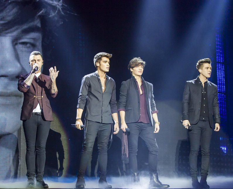 Union J at the Jingle Bell Ball 2014 Sunday